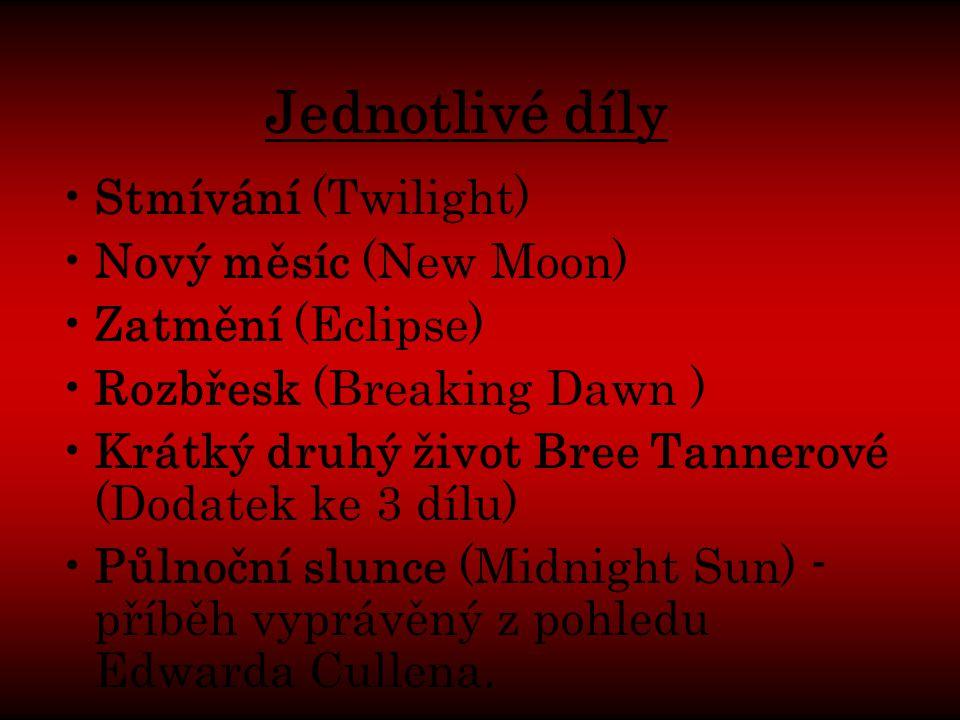 Jednotlivé díly Stmívání (Twilight) Nový měsíc (New Moon)