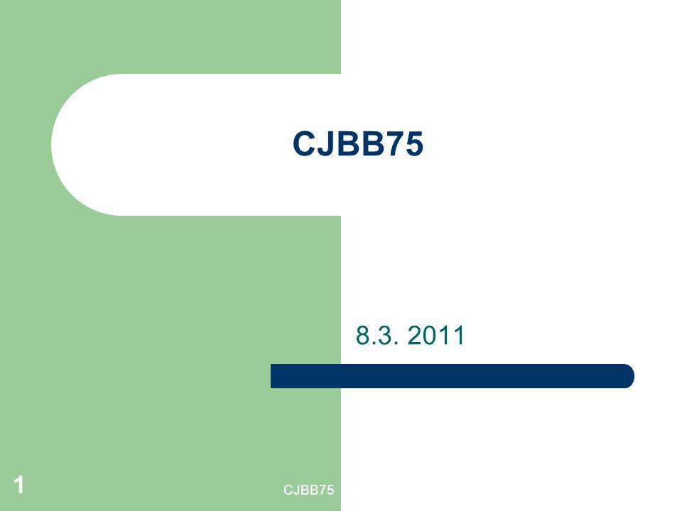 CJBB75 8.3. 2011 CJBB75