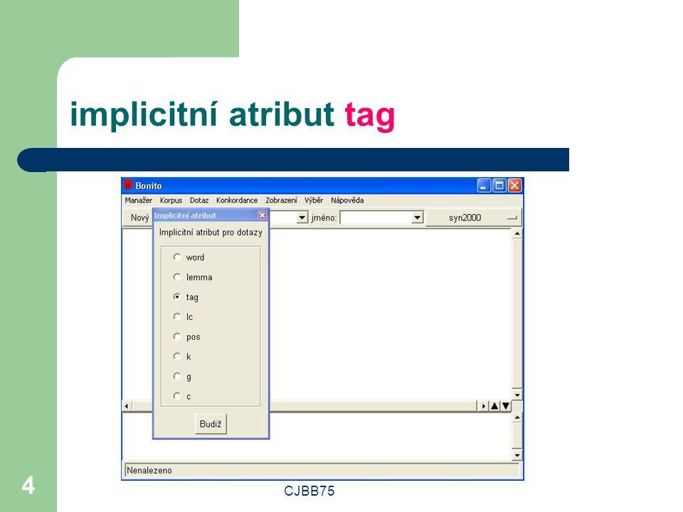 implicitní atribut tag