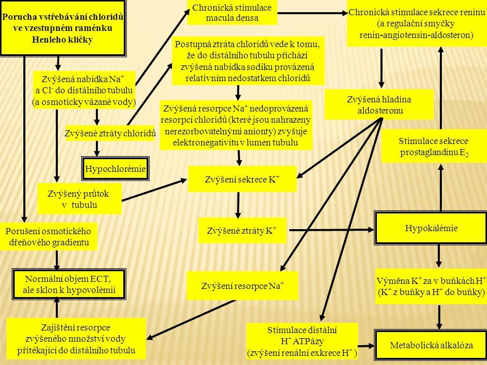Porucha vstřebávání chloridů