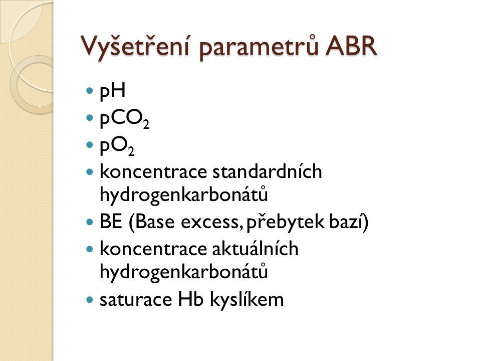 Vyšetření parametrů ABR