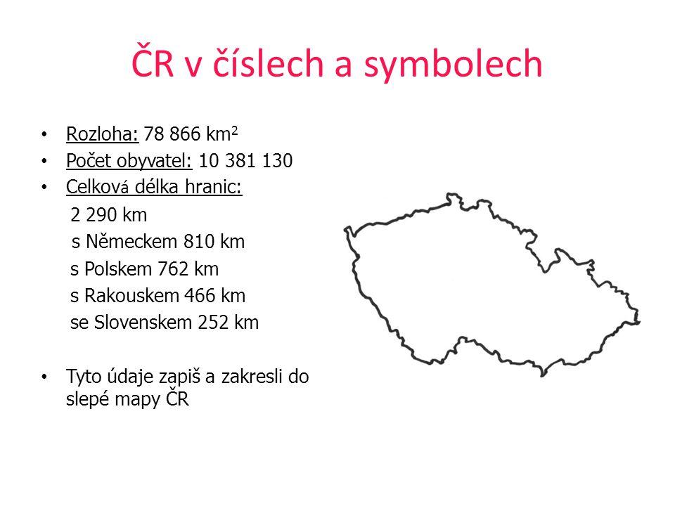 ČR v číslech a symbolech