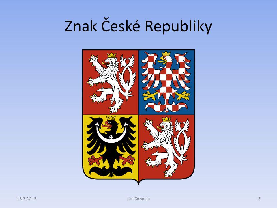 Znak České Republiky 13.4.2017 Jan Zápalka