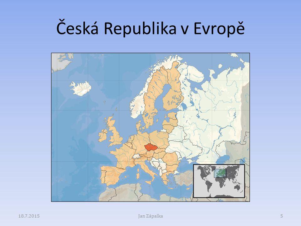 Česká Republika v Evropě