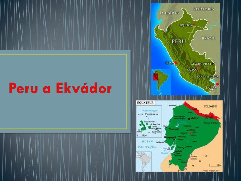 Peru a Ekvádor
