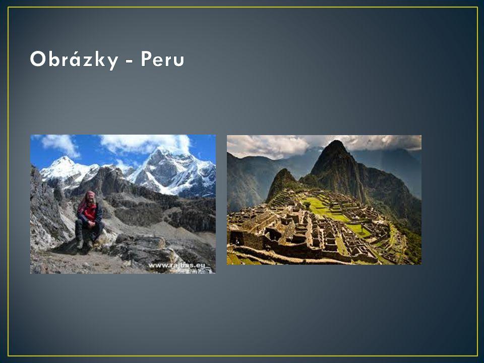 Obrázky - Peru