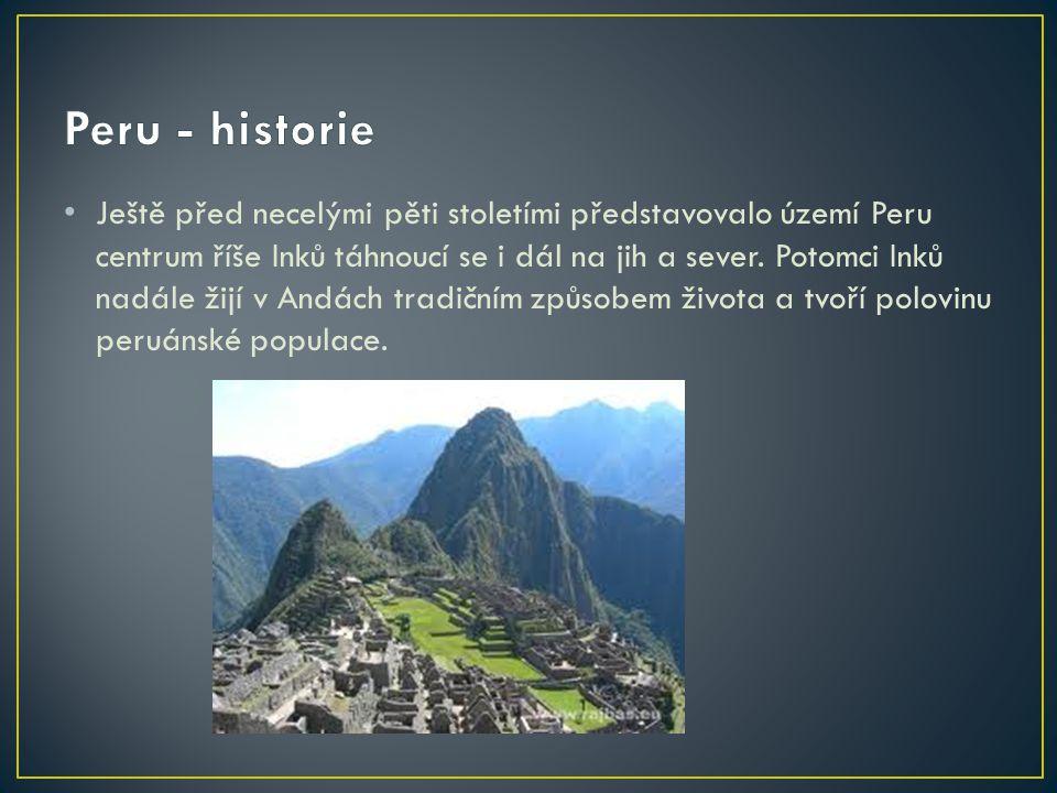 Peru - historie