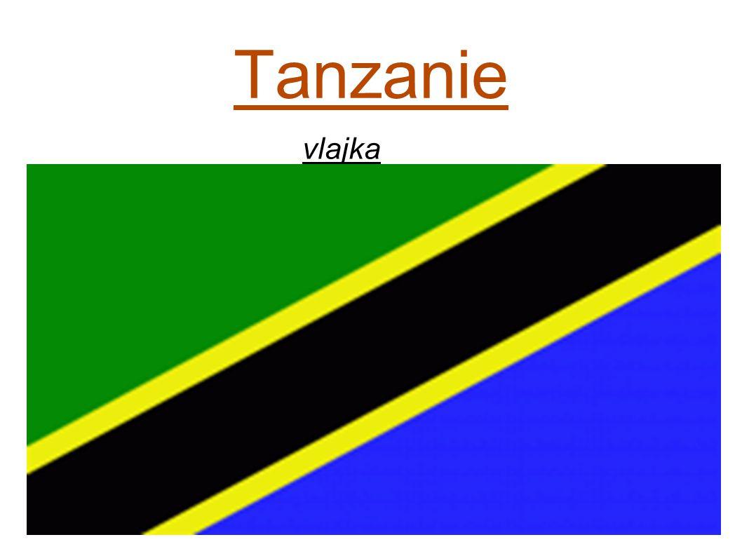 Tanzanie vlajka