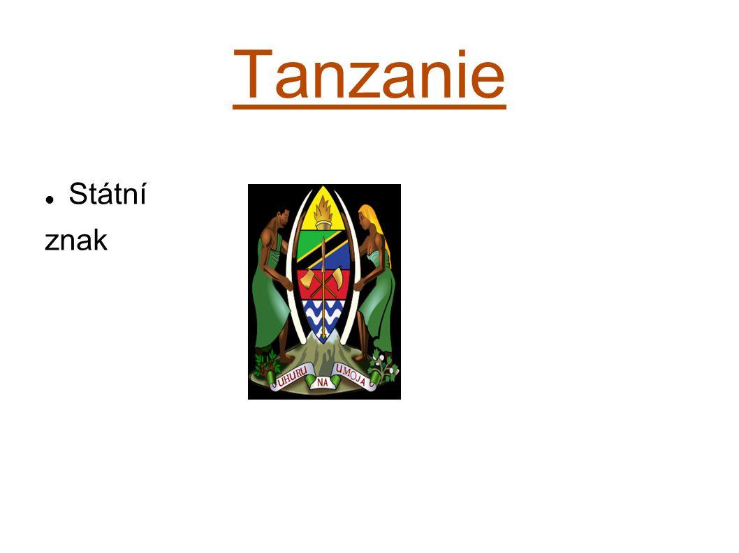Tanzanie Státní znak