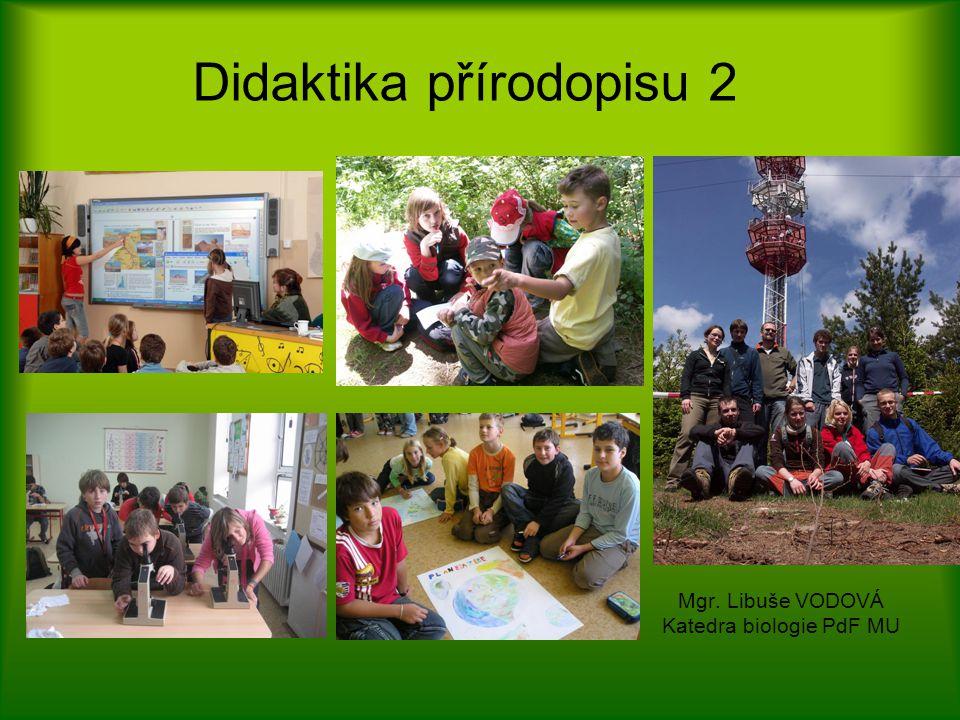 Didaktika přírodopisu 2