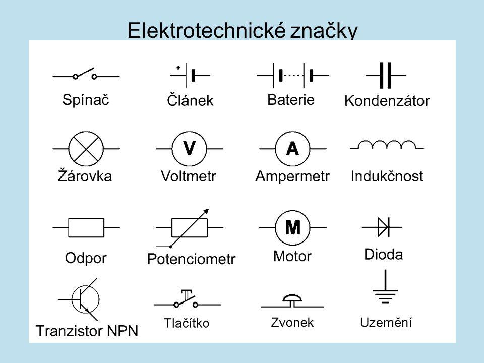 Elektrotechnické značky