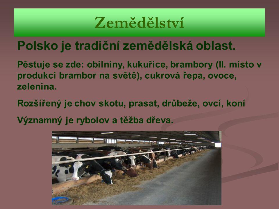 Zemědělství Polsko je tradiční zemědělská oblast.
