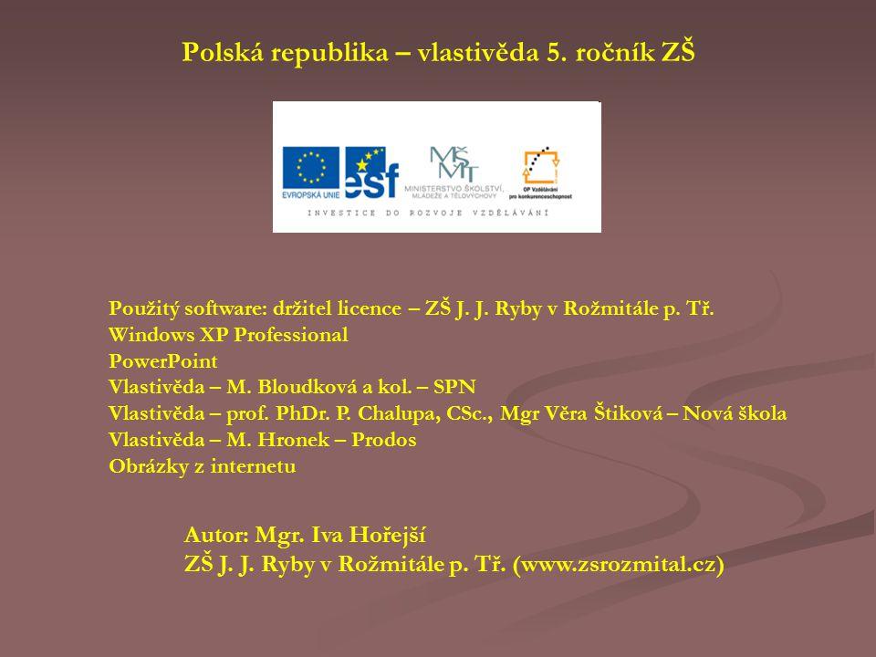 Polská republika – vlastivěda 5. ročník ZŠ