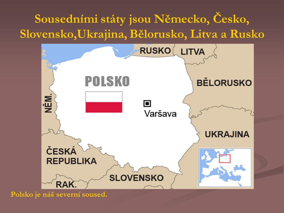 Sousedními státy jsou Německo, Česko, Slovensko,Ukrajina, Bělorusko, Litva a Rusko
