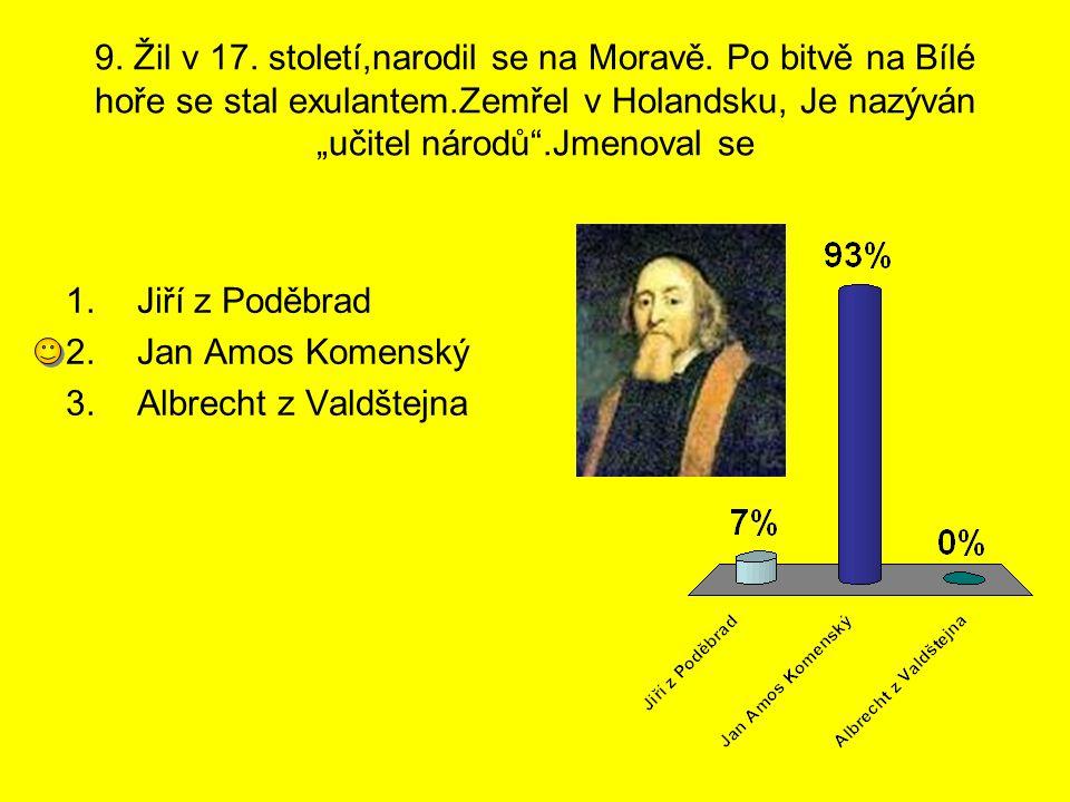 9. Žil v 17. století,narodil se na Moravě