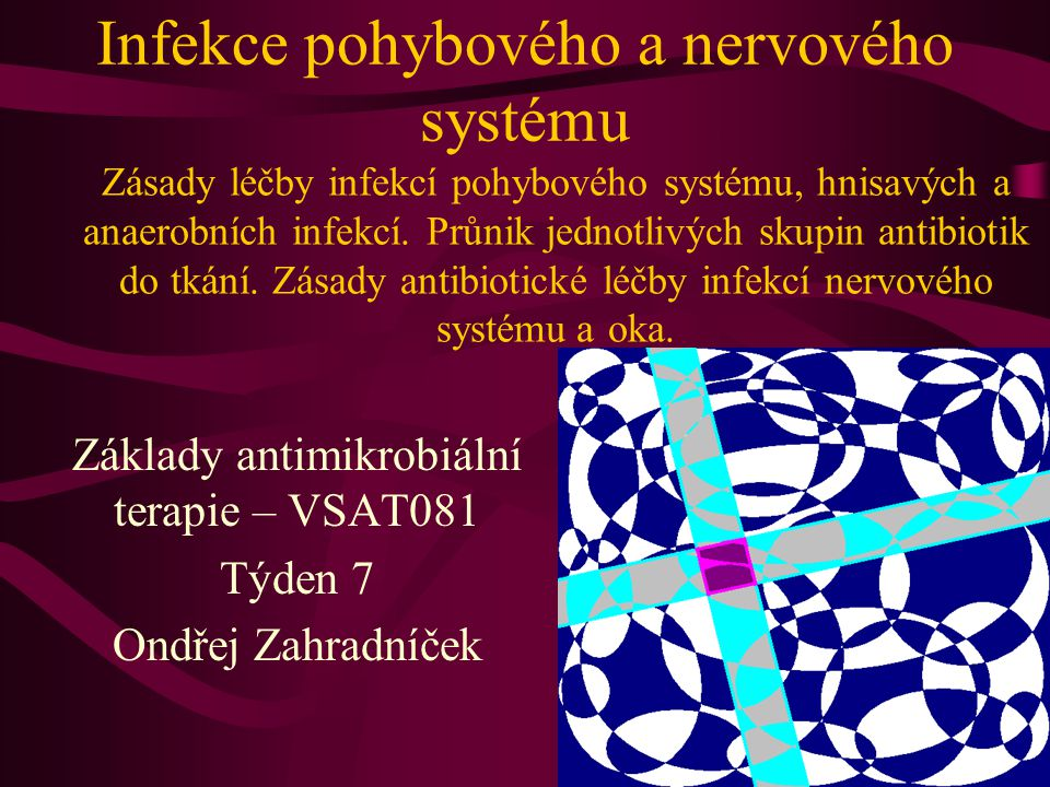 Infekce pohybového a nervového systému