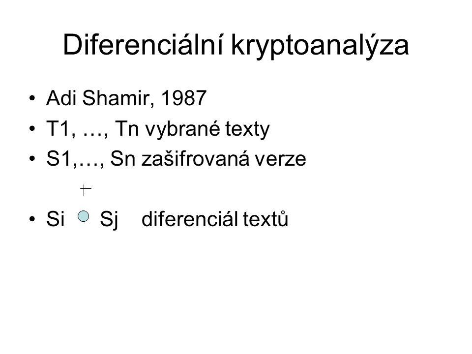 Diferenciální kryptoanalýza