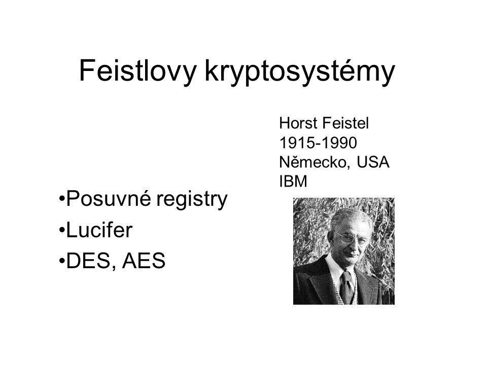 Feistlovy kryptosystémy