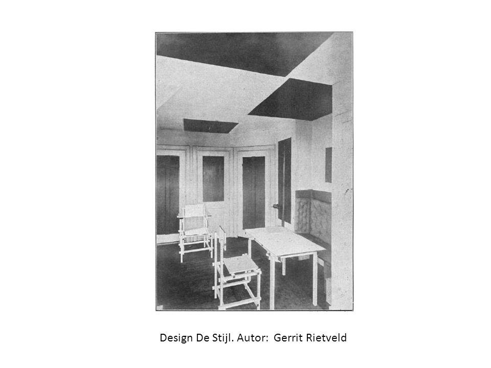 Design De Stijl. Autor: Gerrit Rietveld