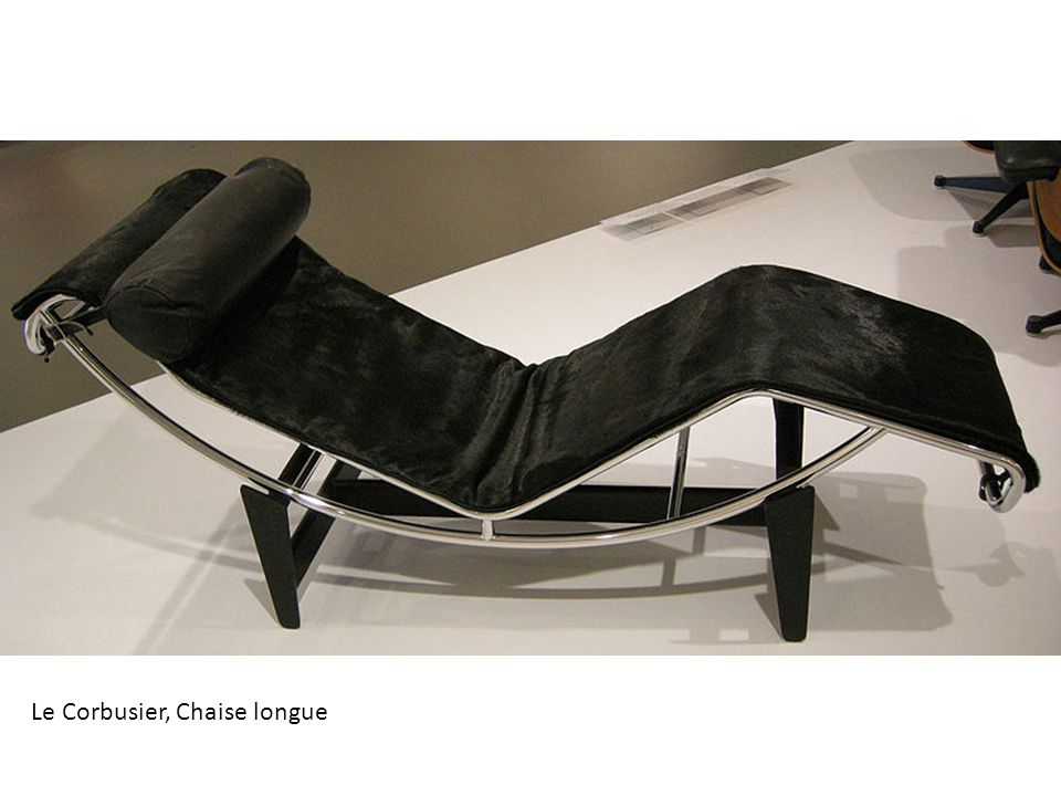 Le Corbusier, Chaise longue