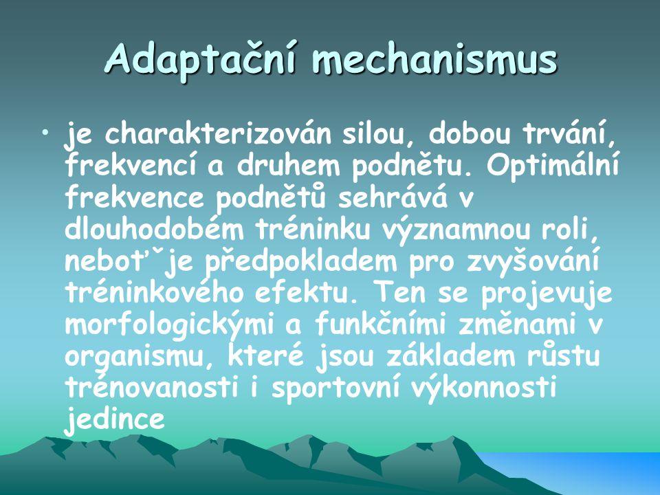 Adaptační mechanismus