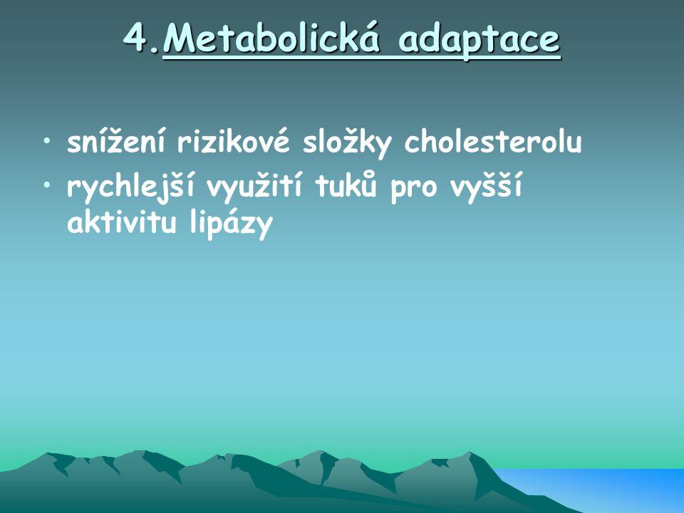 4.Metabolická adaptace snížení rizikové složky cholesterolu