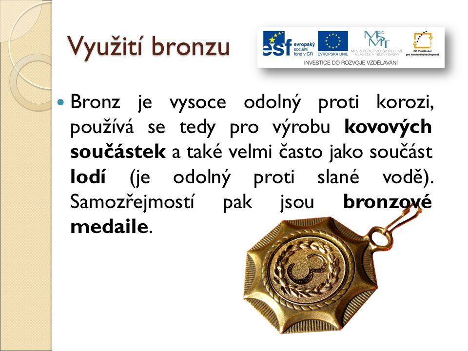 Využití bronzu