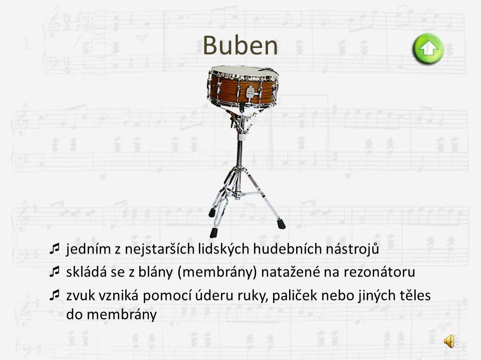 Buben jedním z nejstarších lidských hudebních nástrojů