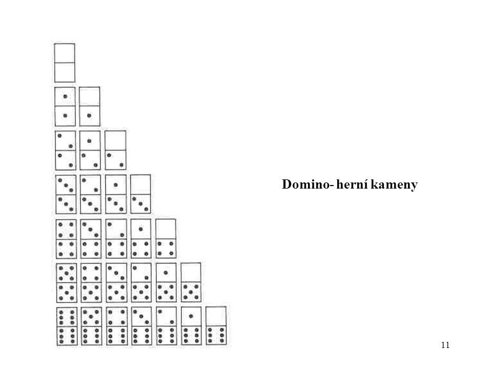 Domino- herní kameny