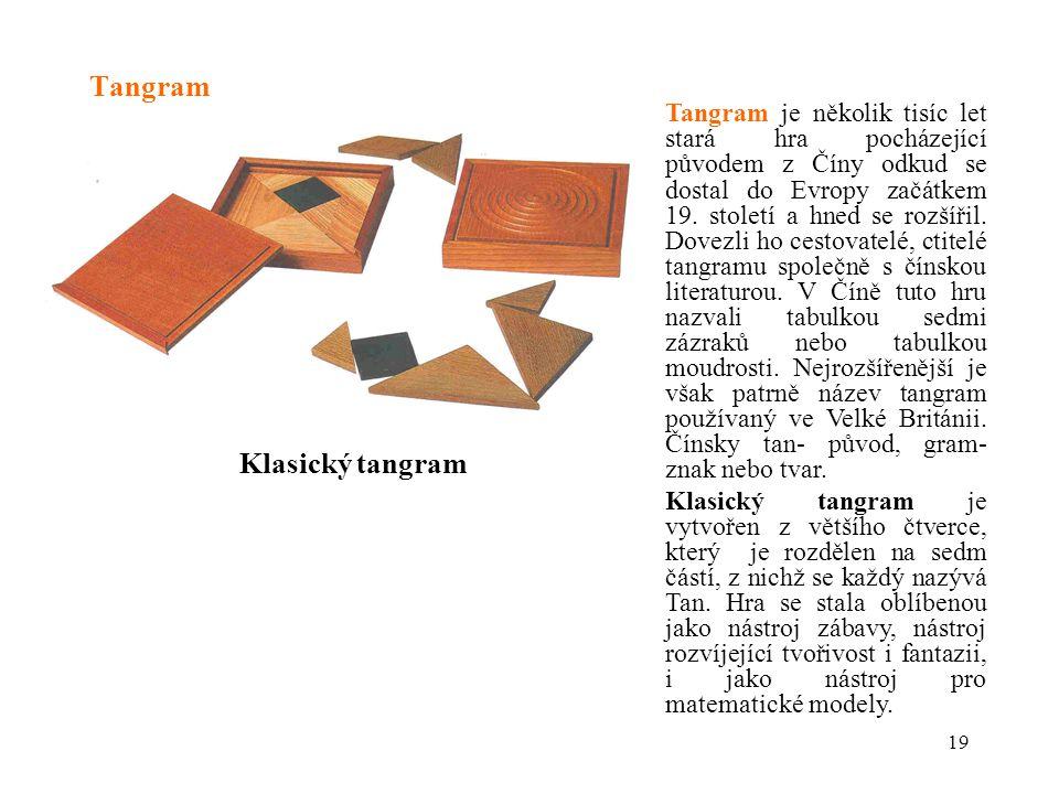 Tangram Klasický tangram