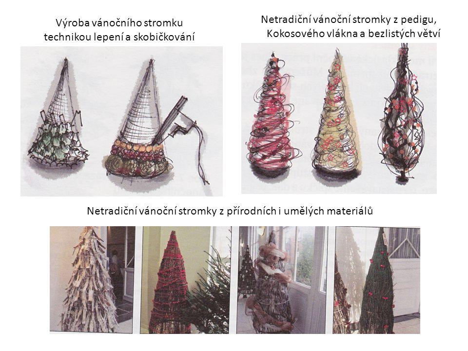 Netradiční vánoční stromky z pedigu,