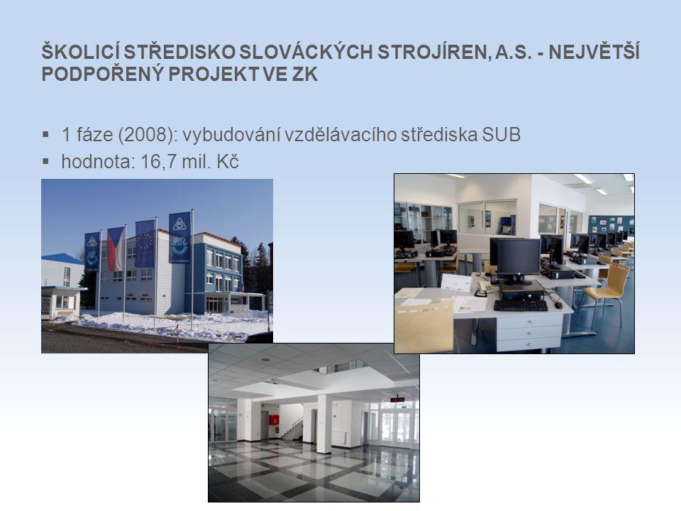 ŠKOLICÍ STŘEDISKO SLOVÁCKÝCH STROJÍREN, A. S
