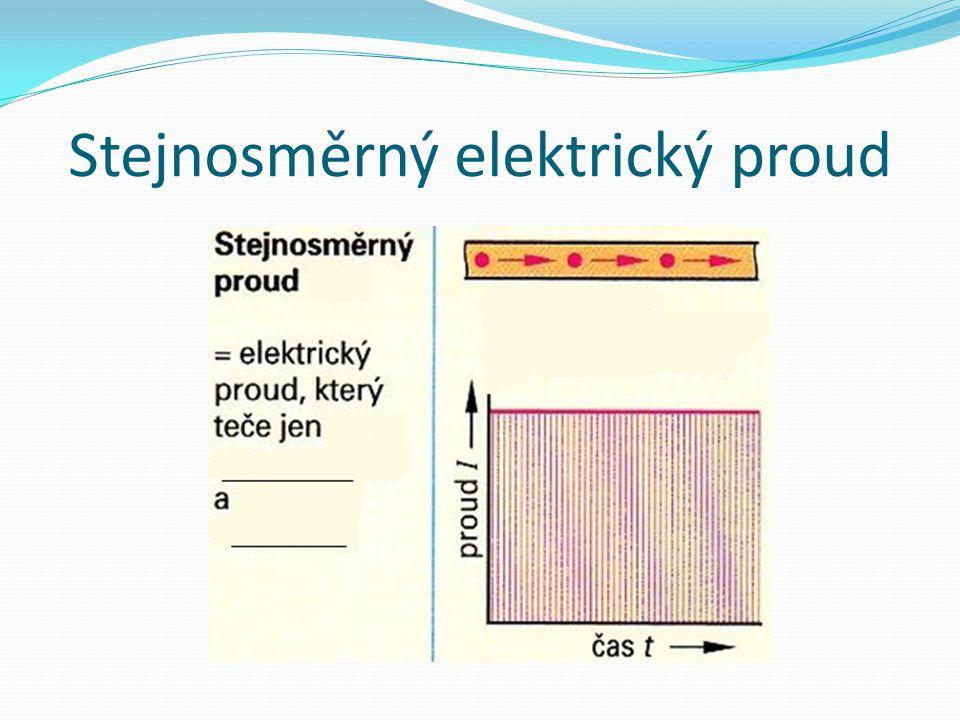 Stejnosměrný elektrický proud