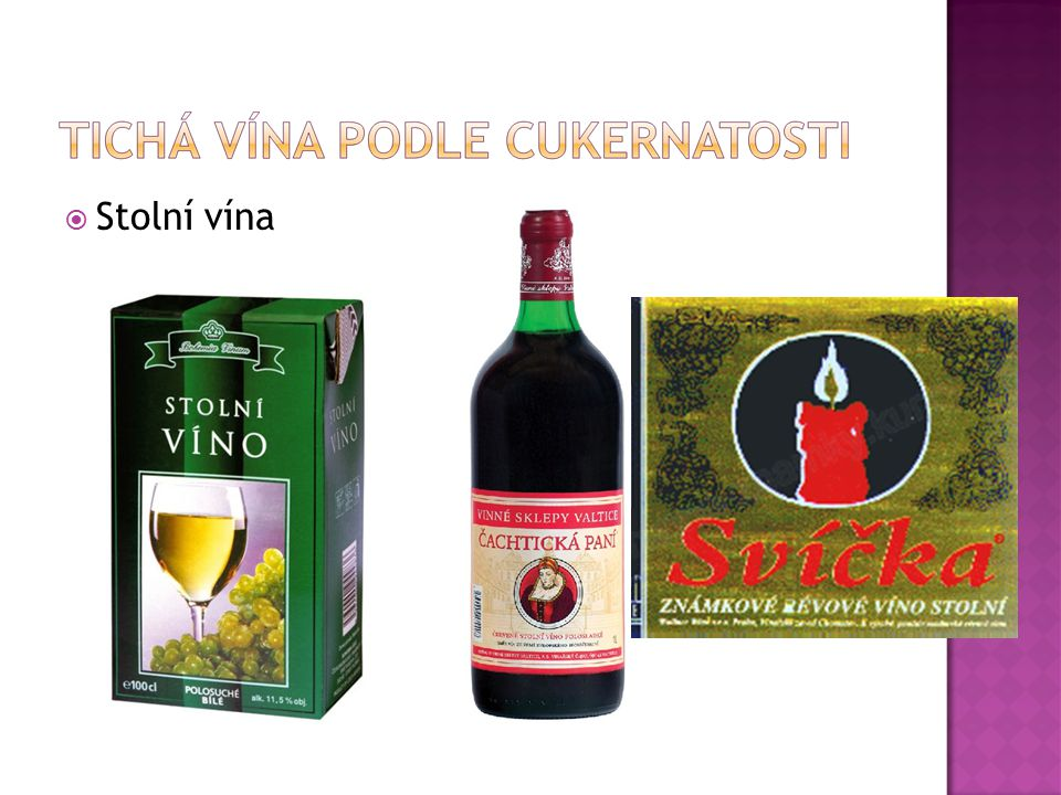 Stolní vína