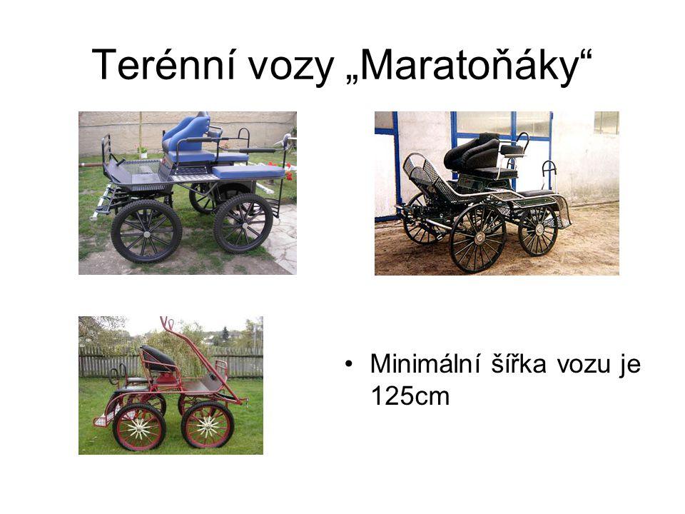 """Terénní vozy """"Maratoňáky"""