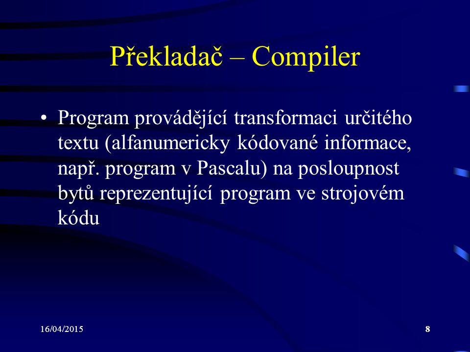 Překladač – Compiler