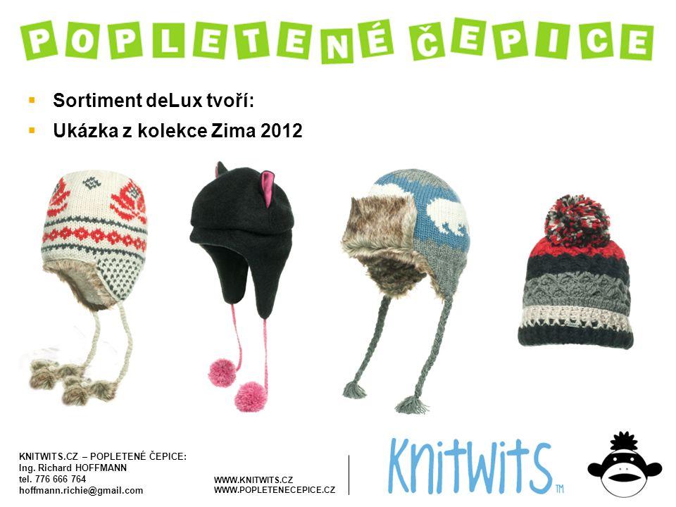 Sortiment deLux tvoří: Ukázka z kolekce Zima 2012