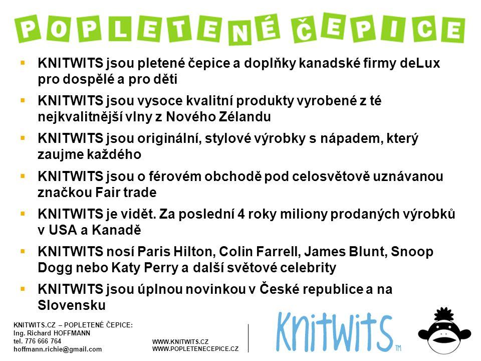 KNITWITS jsou úplnou novinkou v České republice a na Slovensku