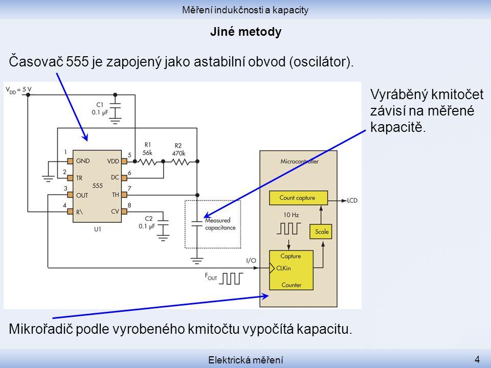 Měření indukčnosti a kapacity