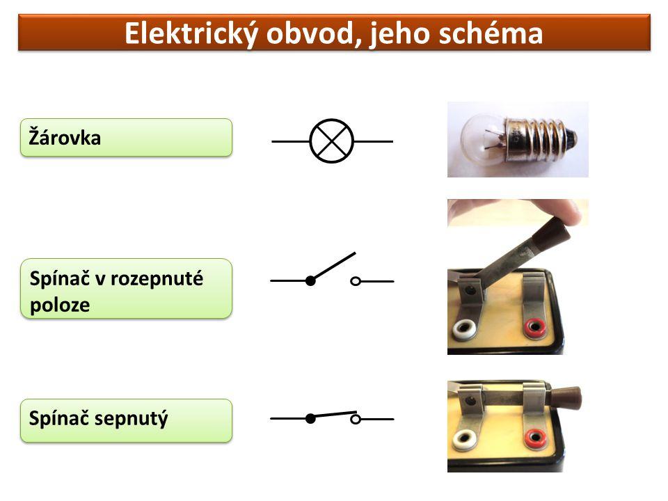 Elektrický obvod, jeho schéma