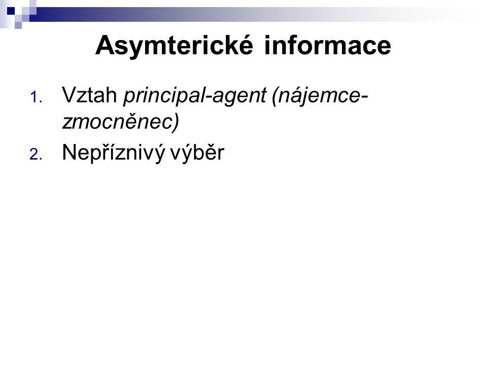 Asymterické informace