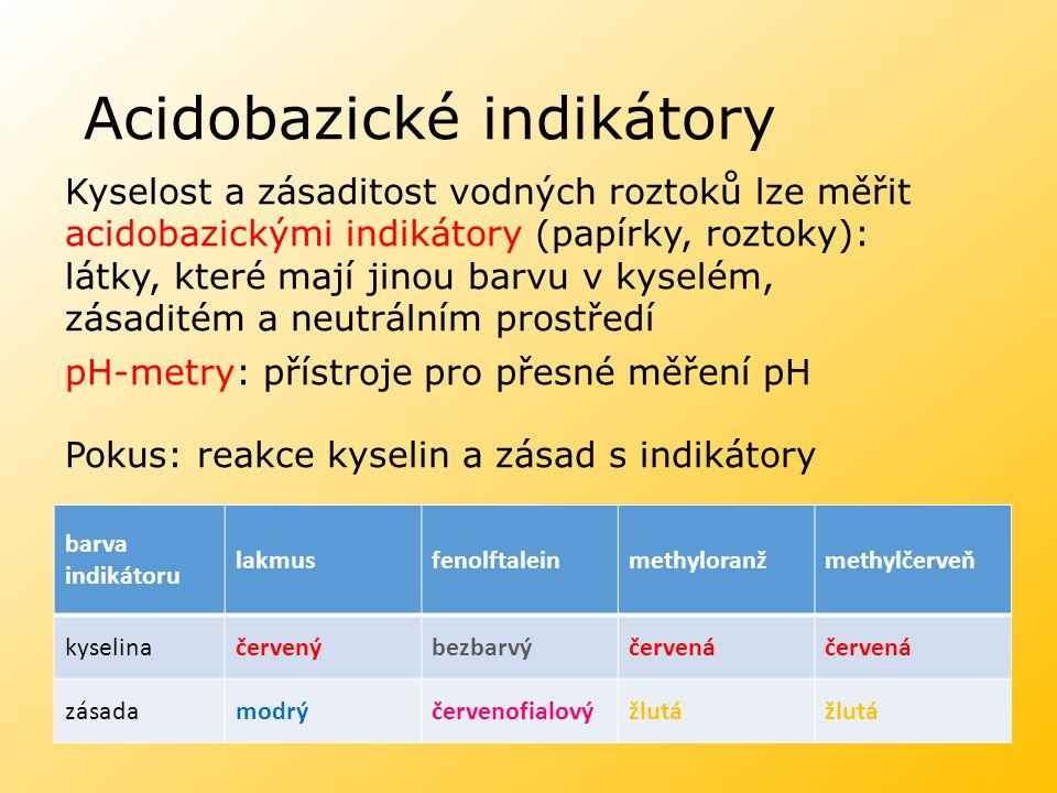 Acidobazické indikátory