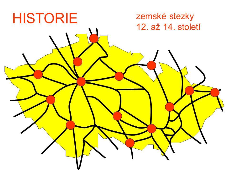 HISTORIE zemské stezky 12. až 14. století