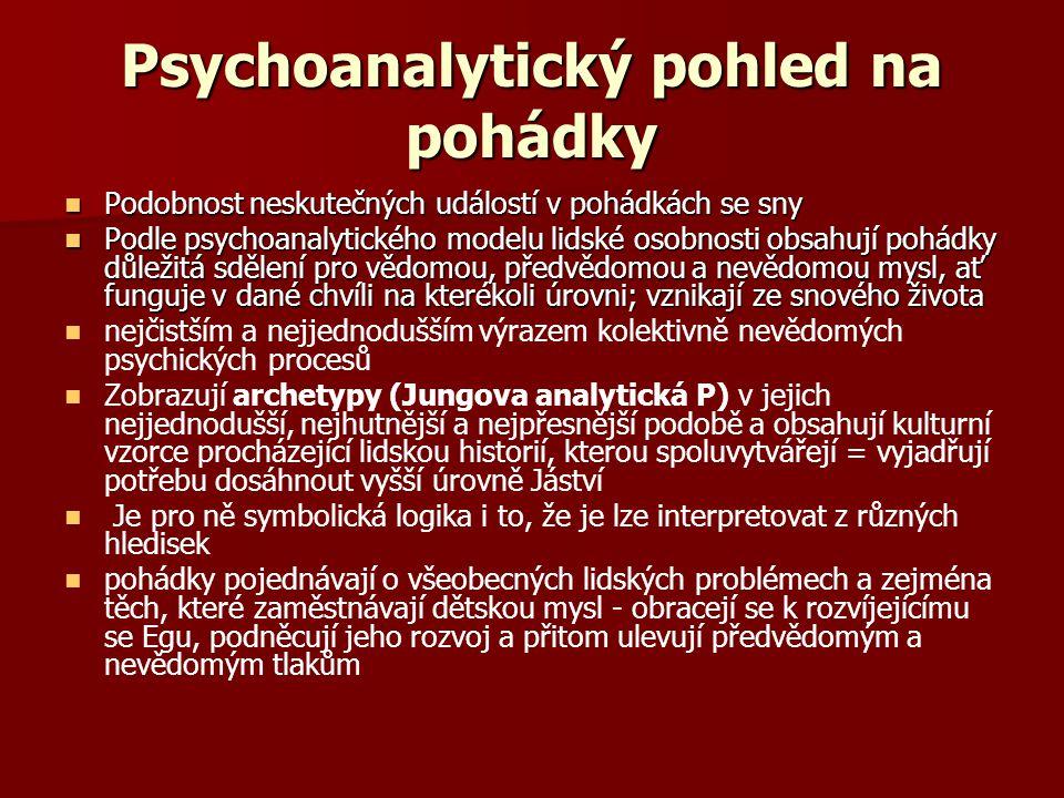 Psychoanalytický pohled na pohádky