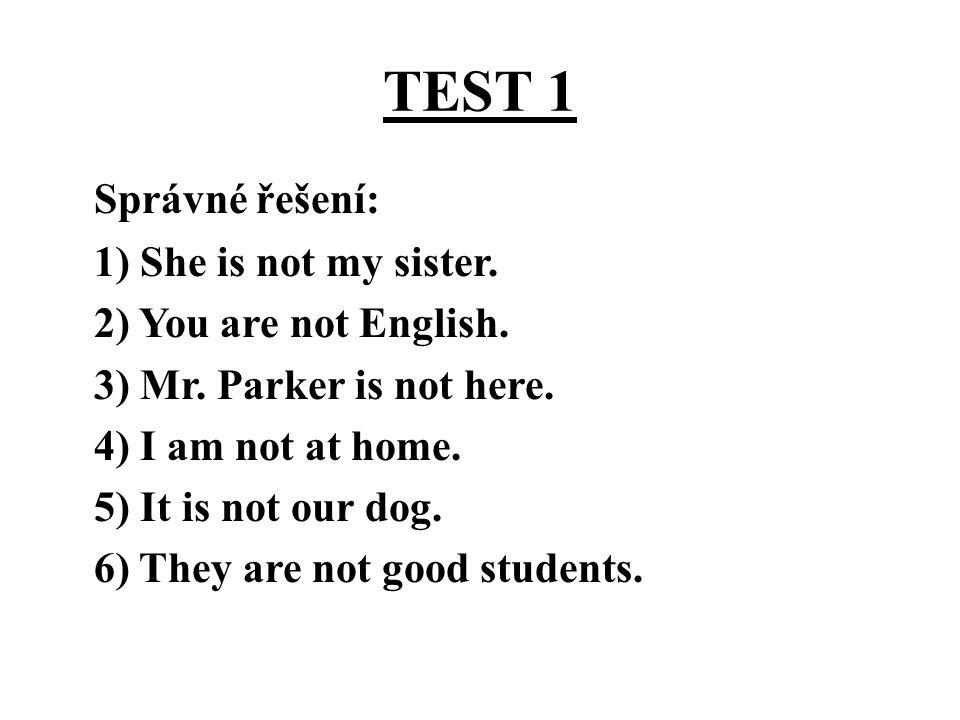 TEST 1