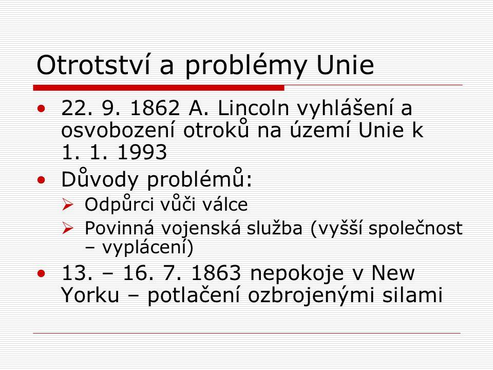 Otrotství a problémy Unie