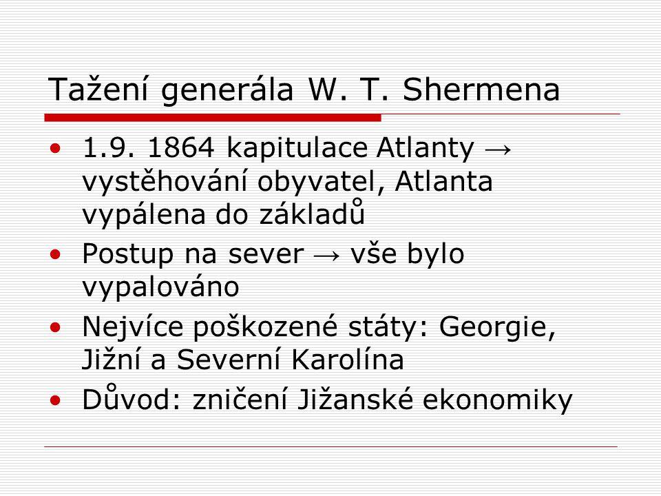 Tažení generála W. T. Shermena