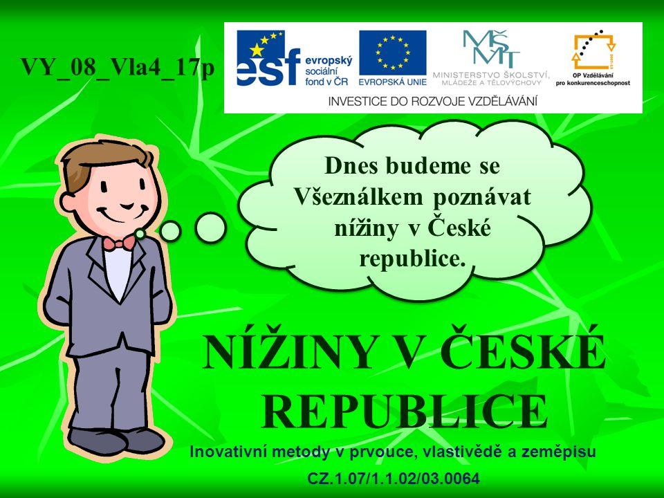 NÍŽINY V ČESKÉ REPUBLICE