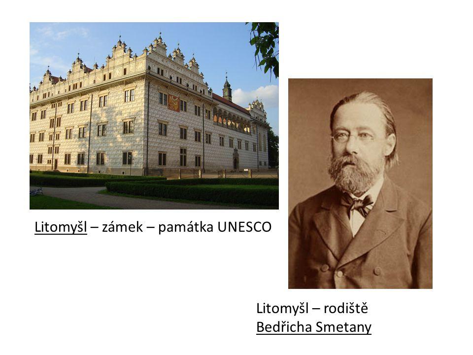 Litomyšl – zámek – památka UNESCO