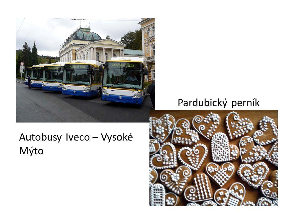 Pardubický perník Autobusy Iveco – Vysoké Mýto